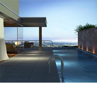 modernes Apartment mit Pool und traumhafter Aussicht