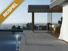 Apartment mit Pool